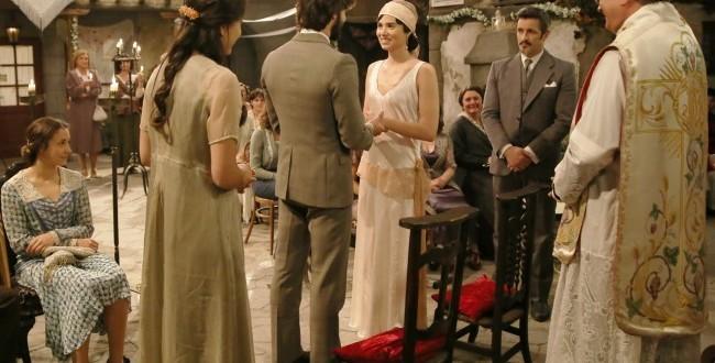 Il matrimonio di Maria e Gonzalo a Il segreto