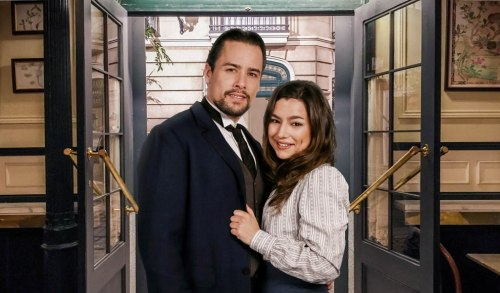 Manuela e German - telenovela Una vita