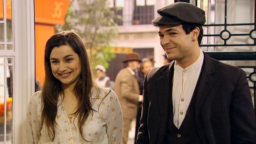 Manuela e Pablo - telenovela Una vita