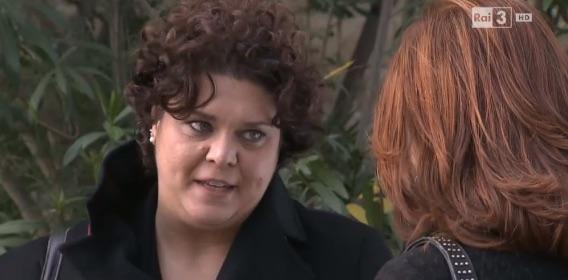 Assunta (Daria D'Antonio) nella soap Un posto al sole