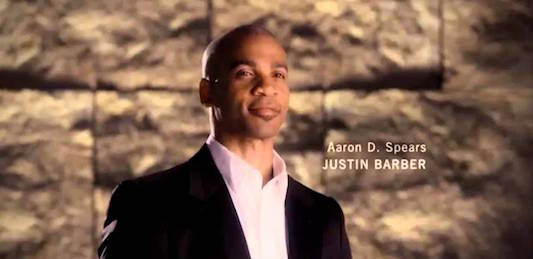 Aaron D. Spears è Justin Barber a Beautiful