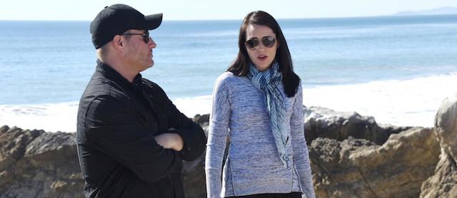 Quinn e Deacon sulla scogliera - Beautiful anticipazioni (foto copyright: Sean Smith / JPI)
