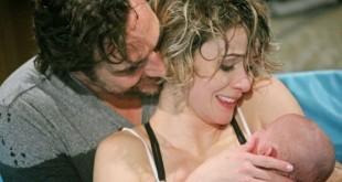 Ridge e Caroline genitori - Beautiful anticipazioni