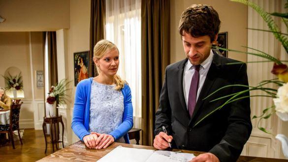 Tempesta d'amore: Sebastian rivela il ricatto di Beatrice (ARD/Christof Arnold)