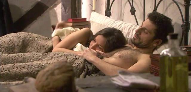 Aurora e Conrado fanno l'amore - Il segreto