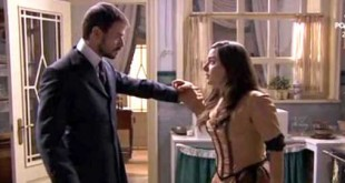 Justo (Iago Garcia) e Manuela (Sheyla Farina) - Una vita