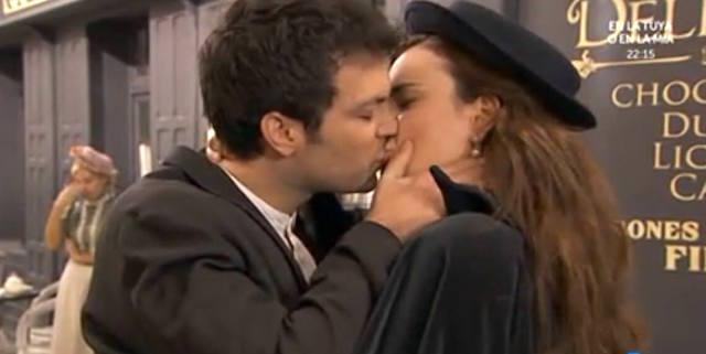 Leonor e Pablo - Telenovela Una vita