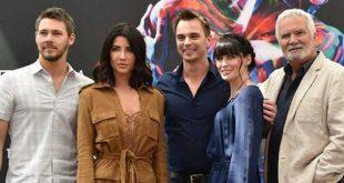 Il cast di Beautiful al Television Festival di Montecarlo (foto dall'account Twitter di Jacqueline MacInnes Wood)
