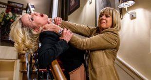 Charlotte cerca di uccidere Beatrice © ARD Christof Arnold