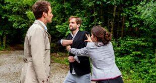 Lucien, Clara e Adrian, Tempesta d´amore© ARD Christof Arnold