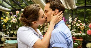 Tina bacia David, Tempesta d'amore © ARD/Christof Arnold