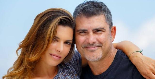Franco (Peppe Zarbo) e Angela (Claudia Ruffo) - Un posto al sole