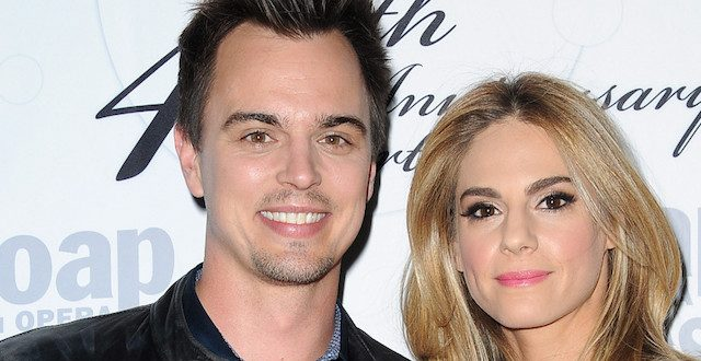 Kelly Kruger con il marito Darin Brooks - Beautiful