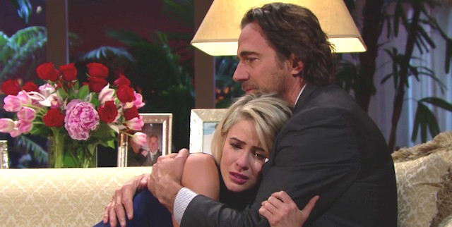 Ridge e Caroline si dicono addio - Beautiful anticipazioni