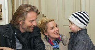 Fabien con Michael e Tanja, Tempesta d'amore © ARD Ann Paur