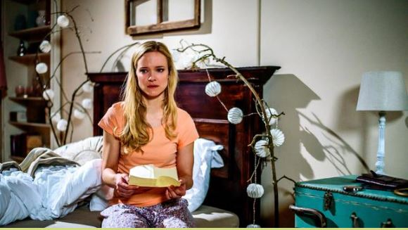 Luisa viene lasciata da Sebastian, Tempesta d'amore © ARD Christof Arnold