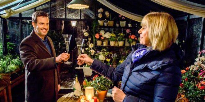 Nils e Charlotte trascorrono una serata romantica, Tempesta d'amore © Christof Arnold