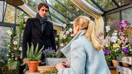 Sebastian confessa la verita a Luisa, Tempesta d´amore © ARD Christof Arnold