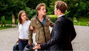 Tina, David e Oskar, Tempesta d'amore © ARD/Christof Arnold