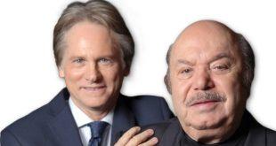 Lino Banfi e Giulio Scarpati, protagonisti di UN MEDICO IN FAMIGLIA 10