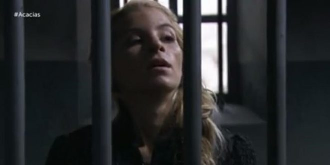 Cayetana in galera - Anticipazioni Una vita