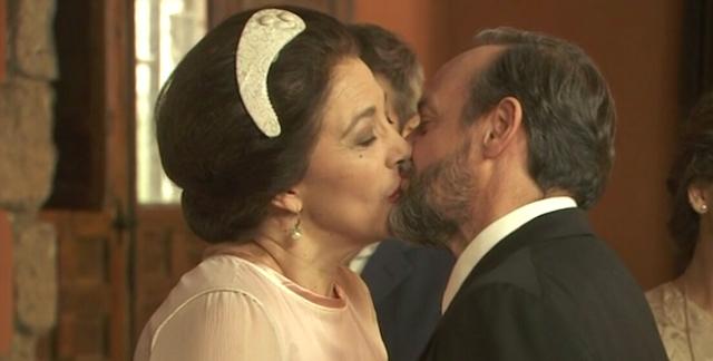 Foto matrimonio DONNA FRANCISCA e RAIMUNDO, Il Segreto