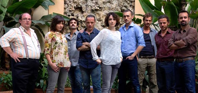 Foto cast LA CATTURANDI, fiction Raiuno
