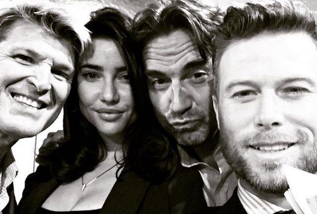 Thorne, Steffy, Ridge e Rick - Beautiful