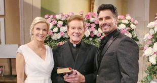 Bill e Brooke all'altare, Beautiful (fonte foto: Tv Insider)