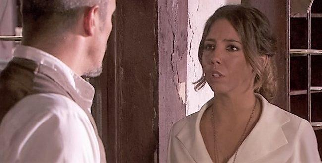 Alfonso ammette con Emilia di averla tradita - Anticipazioni Il Segreto