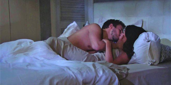 Liam e Steffy fanno l'amore a Beautiful