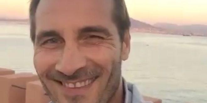Maurizio Aiello a Un posto al sole con il personaggio di Alberto Palladini