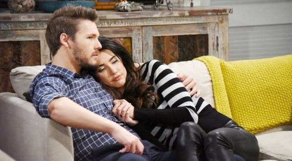 Steffy e Liam di Beautful (foto CBS)