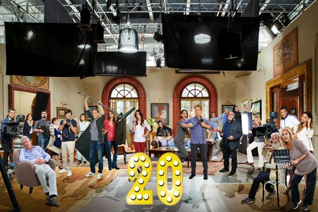 Gli attori della soap per i vent'anni di Un posto al sole