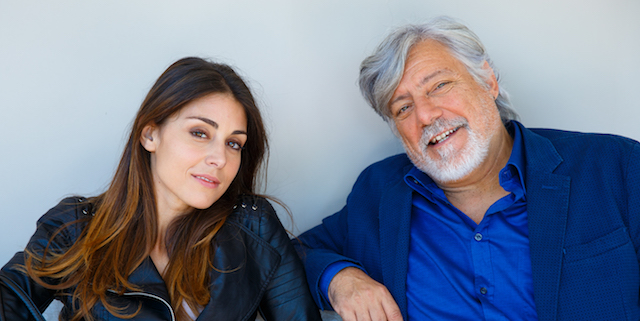 Miriam Candurro (Serena) e Piermaria Cecchini (Gigi) - Un posto al sole. Foto di Giuseppe D'Anna