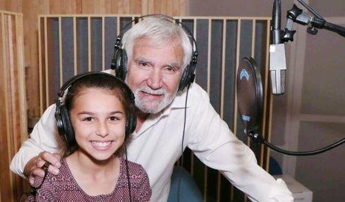 John McCook e la nipote Charlotte Constantin - Beautiful