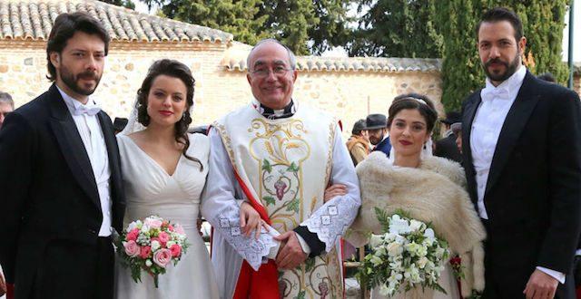 Il segreto: si sposano Lucas e Sol, Severo e Candela. Anticipazioni