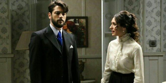 CAMILA e HERNANDO, telenovela Il segreto