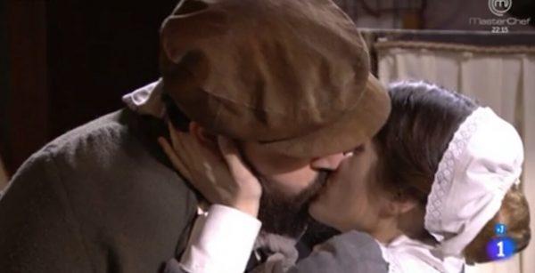 Casilda e Martin, il bacio - Una vita