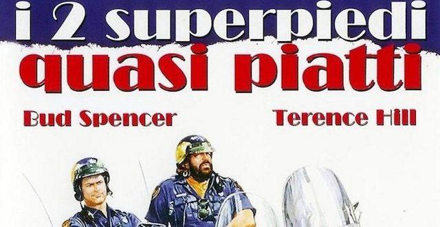 Film DUE SUPERPIEDI QUASI PIATTI