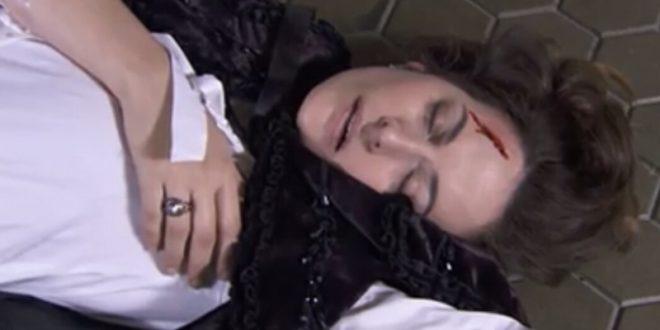 Lourdes Palacios cade rovinosamente dalle scale - Una vita anticipazioni