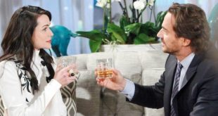 QUINN e RIDGE di Beautiful (fonte foto: CBS)
