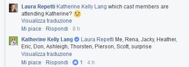 Katherine Kelly Lang su Twitter