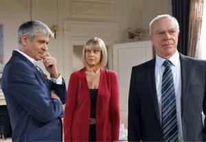 Charlotte, Werner e Friedrich, Tempesta d'amore © ARD Ann Paur