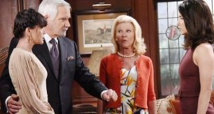 QUINN, ERIC, PAM e STEFFY - Beautiful anticipazioni (Fonte foto: CBS)