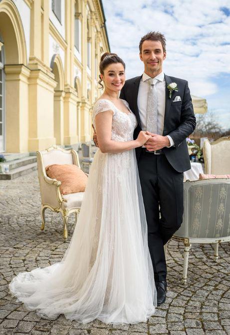 Matrimonio di Adrian e Clara, Tempesta d'amore © ARD/Christof Arnold