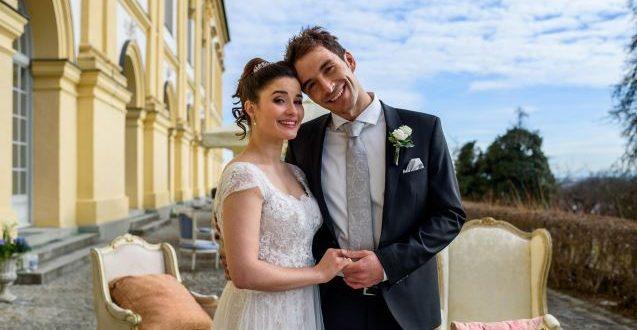 Matrimonio di Adrian e Clara, Tempesta d'amore © ARD Christof Arnold