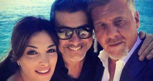 Sonia Aquino e Fabio De Caro con Peppe Zarbo (Instagram)