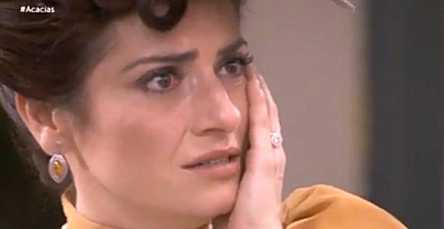 TRINI schiaffeggiata da MARIA LUISA - Una vita