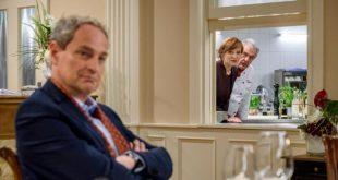 Andre, Susan e il critico gastronomico Lance, Tempesta d'amore © ARD Christof Arnold
